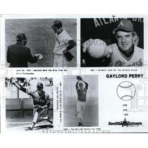 1968 Press Photo Gaylord Perry Seattle Mariners - orc09386