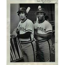 1975 Press Photo Rick Sweet and Don Reynolds leads NWL in homers - orc06457