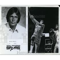 1978 Press Photo Bill Paultz, C, 6-11, San Antonio Spurs - orc00905