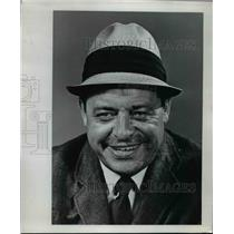 1966 Press Photo Ed Kiely, publicity director of Pittsburg pro Football Steelers