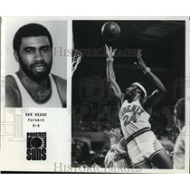 Press Photo Gar Heard, Forward, Phoenix Suns - orc09405