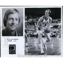 Press Photo Dick Van Arsdale, Guard, 6-5, Phoenix Suns - orc10069
