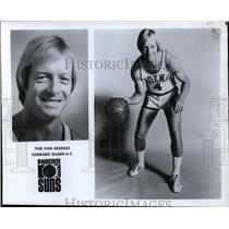 Press Photo Tom Van Arsdale, Forward Guard, 6'5, Phoenix Suns - orc10070