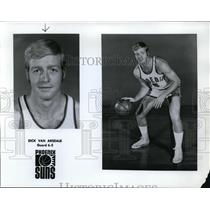 Press Photo Dick Can Arsdale, Guard, 6'5, Phoenix Suns - orc10073