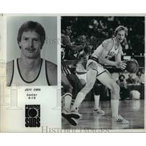 Press Photo Jeff Cook, center, 6'10, Phoenix Suns - orc10475