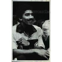 1981 Press Photo Mark Radford is going through a learning process with Seattle.