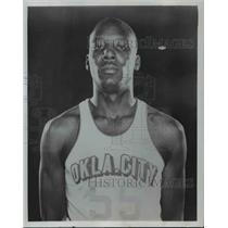 "1966 Press Photo Charley ""Big Game"" Hunter- Oklahoma - orc14110"
