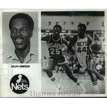 Press Photo Ralph Simpson of the New Jersey Nets - orc10348