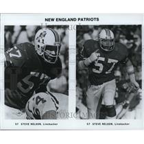 Press Photo #57 Steve Nelson, Linebacker for the New England Patriots