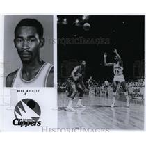 Press Photo Bird Averitt, San Diego Clippers - orc10052