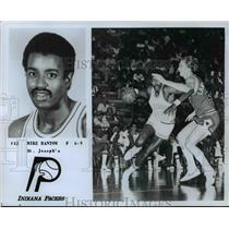 Press Photo #42 Mike Bantom, F, 6'9, St. Joseph's, Indiana Pacers - orc10468