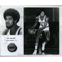 "Press Photo Ed Ratleff- Guard-Forward 6'6"" Houston Rockets - orc09152"