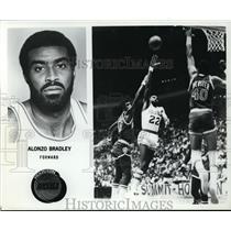Press Photo Alonzo Bradley Foward, Houston Rockets - orc10018