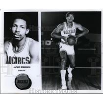 Press Photo Jackie Robinson Forward, Houston Rockets - orc10024