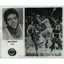 Press Photo Mike Newlin, guard for Houston Rockets - orc13150