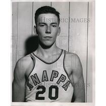 1952 Press Photo Max Kelley, Knappa center college prospect - orc08985