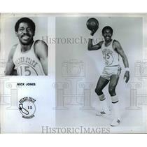 1965 Press Photo Nick Jones, Golden State Warriors - orc07335