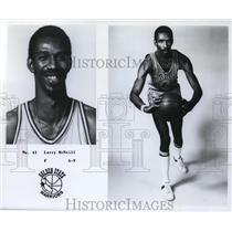 1979 Press Photo Larry McNeill, Forward, Golden State Warriors - orc09425