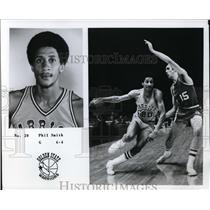 Press Photo Phil Smith, Guard, Golden State Warriors - orc09461
