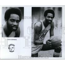 Press Photo Nate Stephens, Golden State Warriors - orc10076