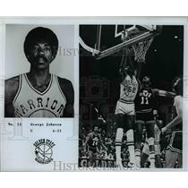 Press Photo No. 52 George Johnson, C, 6'11, Golden State Warriors - orc10097
