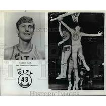 1972 Press Photo Clyde Lee, San Francisco Warriors, The City 43 - orc10158