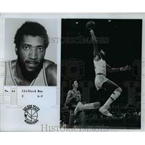 Press Photo No. 44, Clifford Ray, C, 6'9, Golden State Warriors - orc10442