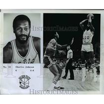 1978 Press Photo Charles Johnson of the Golden State Warriors - orc13157