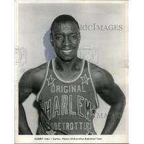 1969 Press Photo Robert Hall center for Harlem Globetrotters Basketball team