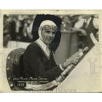 1930 Press Photo Louis Meyer in the Miller Special at Indy track - net34187