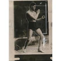 1919 Press Photo Heavyweight champ Bob Martin at training - net30037