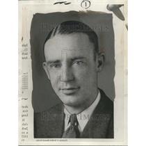 1933 Press Photo Harold Warstler - orc05119