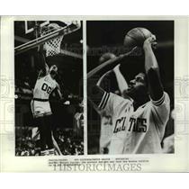 Press Photo Robert Parish, the mystery man who may lead the Boston Celtics