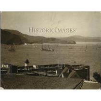 1925 Press Photo Boat Mariner wins vs Eloise, Shawner, Idalia on a lake