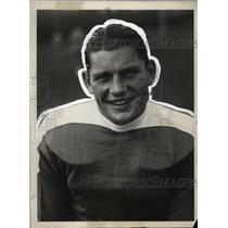 1928 Press Photo Al Lassman, New York University Football Captain, Tackle