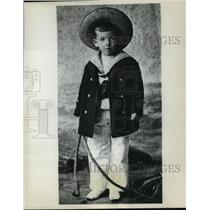 1905 Press Photo Noel Coward-Playwright and Actor at Age Five - mjx25814