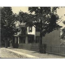 1925 Press Photo Staunton, Virginia Presbyterian Manse Woodrow Wilson Birthplace