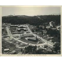 1945 Press Photo East Village, Oak Ridge, Tennessee Clinton Engineer Works