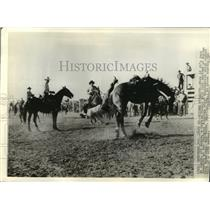 1936 Press Photo Idaho Cowboys - mjx25076