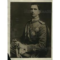1925 Press Photo Crown Prince Umberto of Italy to wed Princess Beatrice of Spain