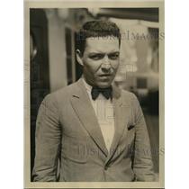 1924 Press Photo Francisco Obregon nephew of Mexico's President - sbx00894