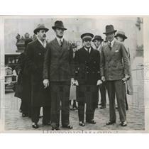 1934 Press Photo T Campbell Black & CWA Scott Winners London to Australia Flight