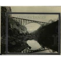 1922 Press Photo Clackamas River, Faraday Bridge - orb06471