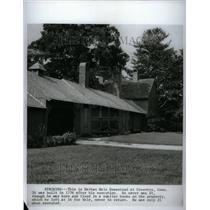 1967 Press Photo Nathan Hale Homestead Connecticut 1776 - RRU40459