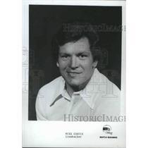 1977 Press Photo Seattle Seahawks linebacker Mike Curtis - sps00942