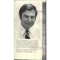 1971 Press Photo California Angels baseball team's new chief, Harry Dalton