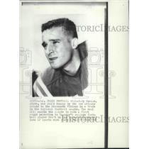 1968 Press Photo New Orleans Saints football player, Gary Cuozzo traded