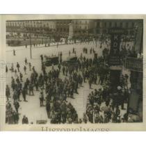 1926 Press Photo Manifestation of Confederation Regional Cheros Mexicanis