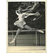 Press Photo Vivi-Anne Hulten Swedish National skate champ at NYC carnival