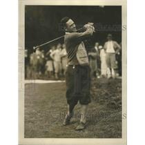 1920 Press Photo D Clarke Corkran National Amateur golf at Philadelphia PA